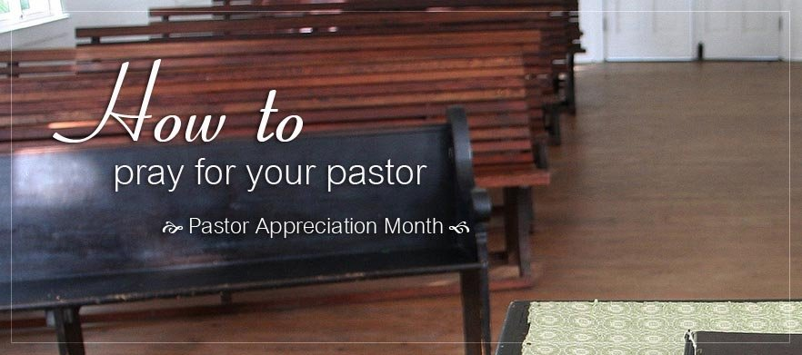 How to pray for your pastor(s) poster