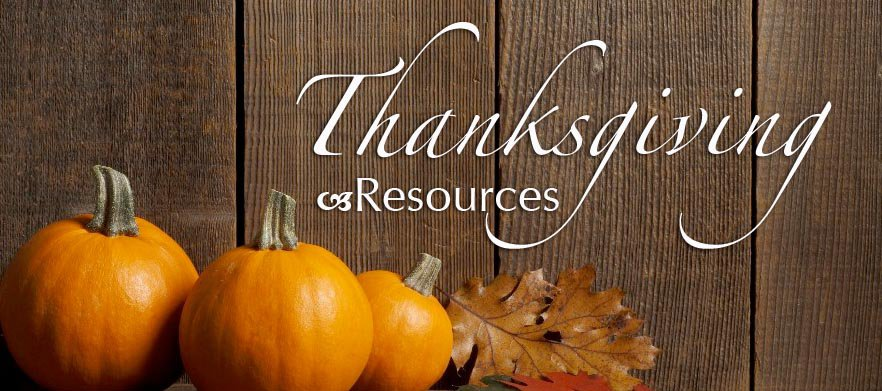 Thanksgiving Resources poster