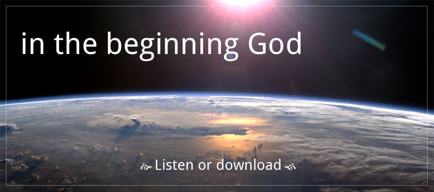 In the Beginning God poster